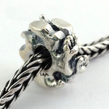 Authentic Trollbeads Sterling Silver Walk Bead Charm 11444,  New - $25.78