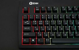 QSENN SEM-DT35SLED Korean English Gaming Keyboard USB Wired for PC image 6