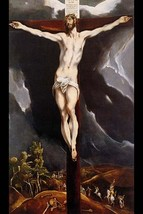 Christ on the cross by El Greco - Art Print - $19.99+