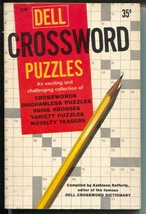 Dell Crossword Puzzles B149 1960-puzzles not worked-paperback-great spine-FN- - $80.70