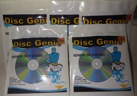 Cd DVD Games Scratch Repair Kit By Disc Genie - $4.75
