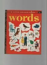 Words - Selma Lola Chambers - HC - 1948 - Little Golden Book - Golden Pr... - $3.38