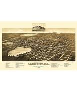 Lake City Florida - Beck 1885 - 23.00 x 36.41 - $36.58+