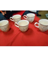 """-Great Collectible KELTCRAFT by NORITAKE 5 Cups """"Kilee"""" Made in Ireland - $13.57"""
