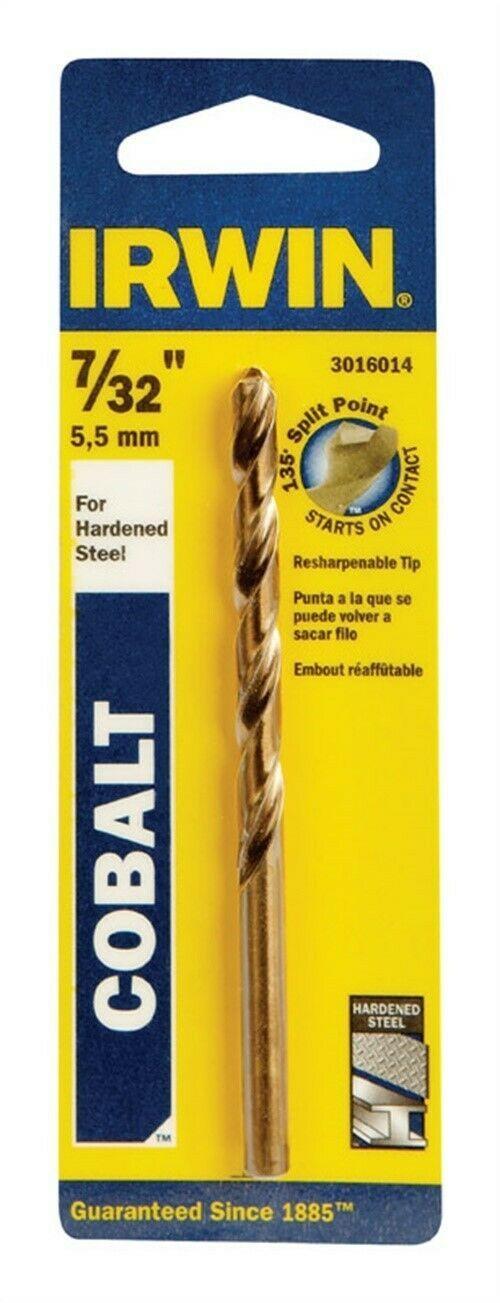 Irwin  Turbomax  High Speed Steel  Straight  5//16 in Drill Bit  1 Dia