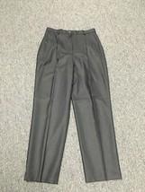 PENDLETON Black 100% Wool Pleated High Waist Straight Dress Pants Sz 14 ... - €44,83 EUR