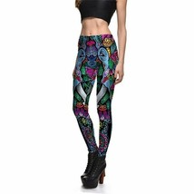 Sexy Women Leggings Trousers Yoga Fitness Elastic Girl Lady Color Digita... - $18.87
