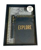 Eccolo Journal Three Piece Gift Set with Spiral Bound Notebook, Journal,... - $11.88