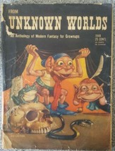 From Unknown Worlds # 1948 - Street and Smith -G/VG - Pulp Magazine - $89.09