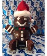 Handmade Glass Christmas Gingerbread Man - $38.26