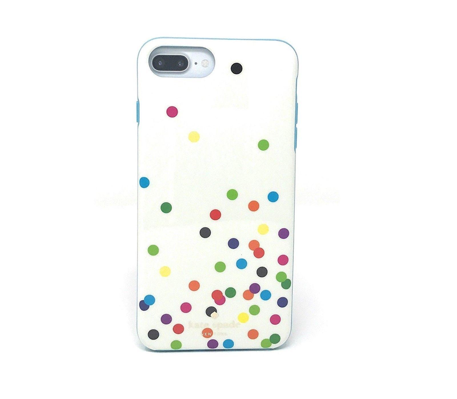 Kate Spade New York Case for iPhone 8/7 Plus/6s PLUS - Confetti Dots Multi-Color