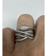 Vintage Snake Deco Ring 925 Sterling Silver Size 6 - $133.65