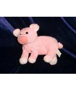 "RUSS STUFFED PLUSH PINK PIG PICKLES BEAN  BAG TOY SOFT CHAMOIS FLOPPY 6"" - $15.04"