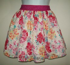 Children's Place Girls Skirt Sz  M 7 8 Floral Lace Overlay Tulle Spring ... - $14.84