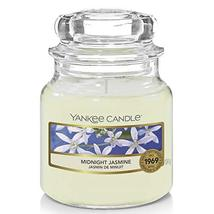 Yankee Candle Small Jar Scented Candle, Midnight Jasmine, Up to 30 Hours... - $14.99