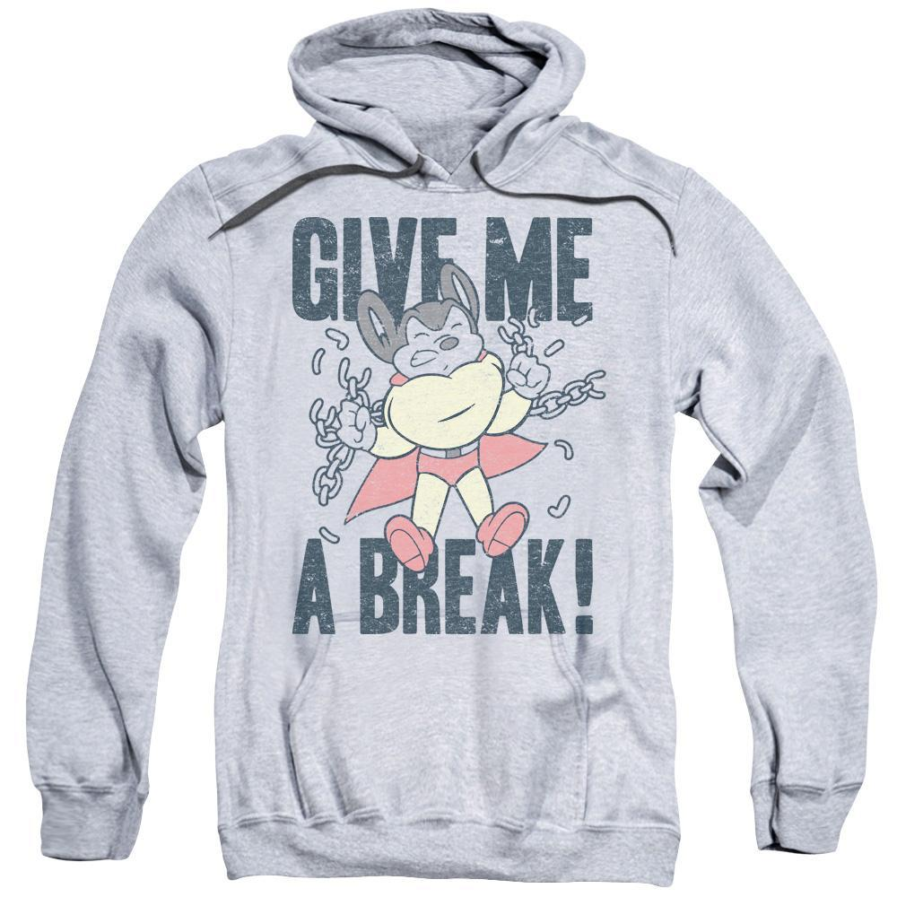 character retro cartoons give me a break gray graphic hoodie for sale online cbs1587 afth 2000x
