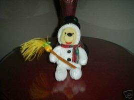 Winnie The Pooh Snowman Disney Exclusive - $39.39
