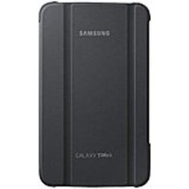 Samsung Carrying Case (Book Fold) for 7 Tablet - Gray - Synthetic Leather - $26.11