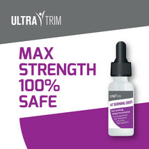 Ultra Trim Fat Burning Drops - Max Strength Slimming Serum Fast Metabolism - $33.23