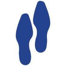 LiteMark Blue Dress Shoe Footprint Decal Stickers - Pack of 12 - $19.95