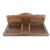 Vintage Men's Valet Dresser Top Jewelry watch organizer Storage Vintage ... - $19.79