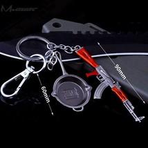PUBG Playerunknown's Battlegrounds Level Pistol Helmet Keychain Key Ring... - $2.59+