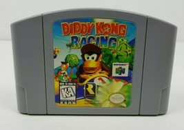 Diddy Kong Racing Nintendo 64 Cleaned Tested Authentic N64 US Version 1997 - $14.84
