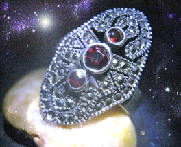 HAUNTED RING REPAIR ALL THAT WORKS AGAINST EACH OTHER INTO BALANCE OOAK ... - $9,097.77