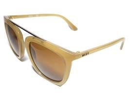NEW DKNY Donna Karan New York Injected Retro Yellow Sunglasses DY4146 + Case - $79.99