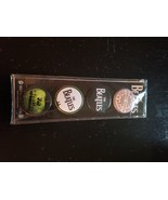 4 the Beatles pins brand new - $12.99