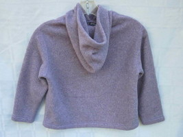 PATAGONIA HOODY FLEECE SWEATER JACKET Girl's Size 5-6 XS Lavender Lilac ... - $18.99