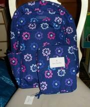 Vera Bradley Factory Exclusive Laptop Backpack & lunch Bunch in Ellie Fl... - $89.00