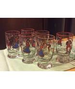 Vintage Cordial Shot Glasses Portugal - $37.39