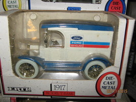 ERTL 1917 Model T Delivery Truck Bank-Ford New Holland CO- FREE SHIPPNG - $20.00