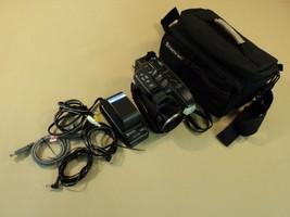 Panasonic Palmcorder Video Camera VHS-C 16x Optical Zoom PV-D407D V2 - $40.43