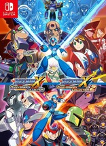 NEW Rockman X Anniversary Collection 1 & 2 Nintendo Switch Japan Import - $69.29