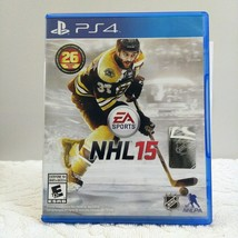 NHL 15 PS4 PlayStation 4 2014 Complete Free Shipping - $9.47