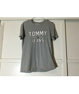 Tommy Jeans Men's Size Large Light Gray Spellout T-Shirt since 1985  - $13.00