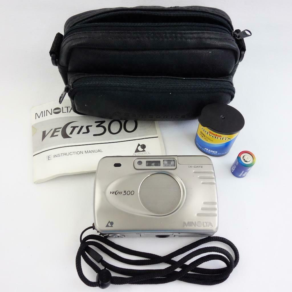 Primary image for Minolta Vectis 300 APS Film Point and Shoot Camera