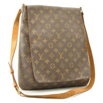 LOUIS VUITTON Monogram Musette Shoulder Bag M51256 LV Auth 10429 - $320.00