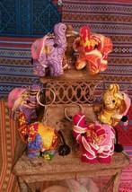 Boho Tribal Handmade Elephant Keyrings - $6.24