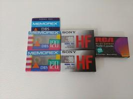 Lot of 5 total. 2 Sony HF90 2 memorex dbs120 1 rca hi fi rc90.  B2 - $15.83