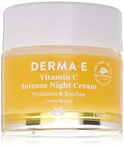 DERMA E Vitamin C Intense Night Cream, 2 oz, Cream White - $22.00
