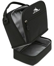 High Sierra Insulated and Padded Stacked Compartment Lunch Bag Black One... - $19.99