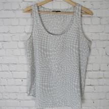 bd1bf649153965 George Shirt Tank Top Womens Medium M Gray White -  13.87 · Add to cart ·  View similar items
