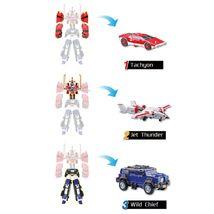Tobot V Titan V 2021 Transforming Action Figure Korean Vehicle Toy Robot image 3