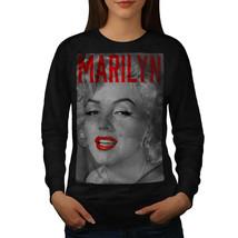 Marilyn Retro Monroe Jumper Urban Beach Women Sweatshirt - $18.99