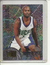 (b-32) 1995-96 Fleer Metal Rookie Roll Call Basketball Card #R6 Shawn Respert   - $1.00