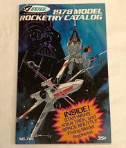 Vintage 1978 Estes Model Rocketry Catalog No. 781 Star Wars cover Star Trek - $52.00