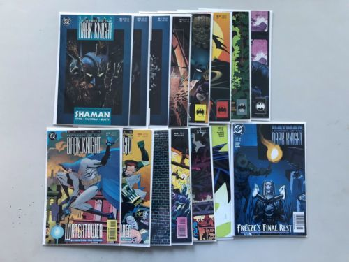 Lot of 15 Batman Legends of the Dark Knight (1989) from #2-190 FN-VF Very Fine